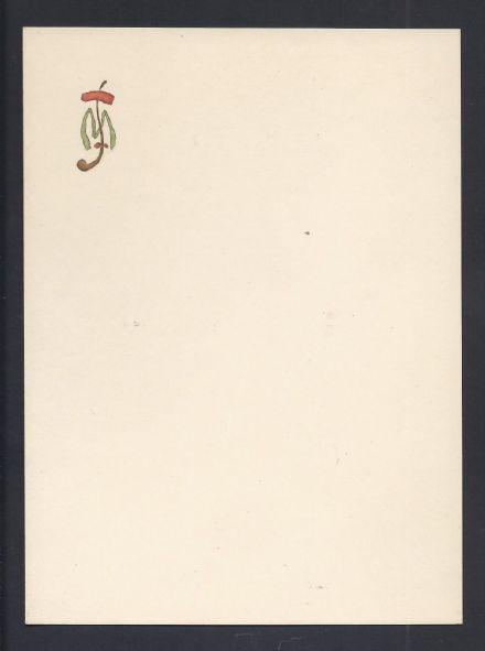 Antique Maison Stern Stationery for Russian Princess Maria Tenishev